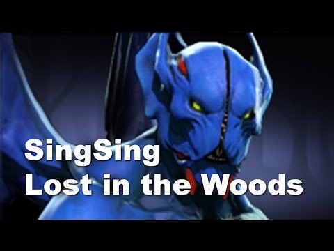 Lost - http://www.twitch.tv/sing_sing - stream Dota 2 Kuroky Wisp lost SingSing In The Woods.
