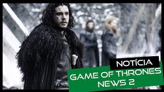Domingo é dia de #dominGOT no canal e hoje vamos as novidades da semana de Game of Thrones: - Data de estreia da sexta...
