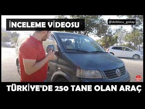 Türkiye'de Nadir Olan Yeni Arabam Multivan'ı İNCELEDİM!