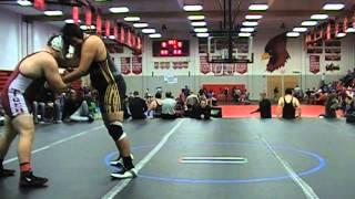 Collin Braun W'Burg vs Charles Carter Belton 285 lbs