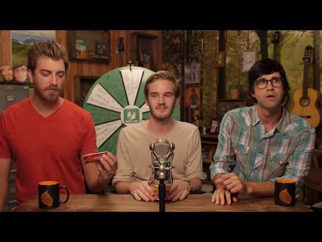 Good Mythical Morning In Spanish : Eating surströmming with pewdiepie mp ford