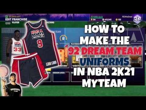 How To Create The 1992 Dream Team In NBA 2K21 MyTeam