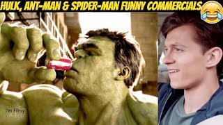 Download Video Marvel Superheroes Funny TV Commercials Ft. Tom Holland & Ryan Reynolds MP3 3GP MP4