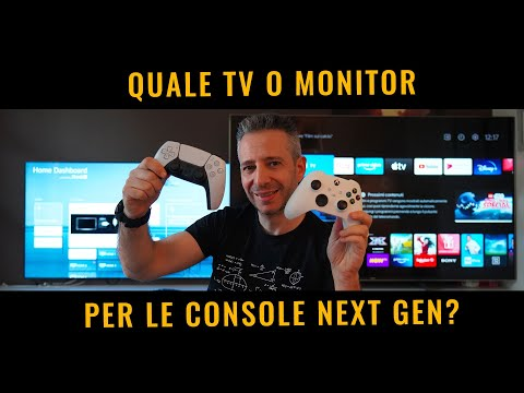 Quale TV o MONITOR per PS5 o XBOX series S NEXT GEN?