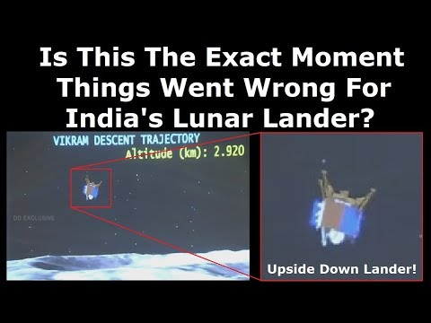 What We Know About India's Failed Lunar Landing