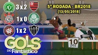 Video Gols do Fantástico # Flamengo continua LÍDER, mas com Corinthians e Atlético MG juntos MP3, 3GP, MP4, WEBM, AVI, FLV Mei 2018