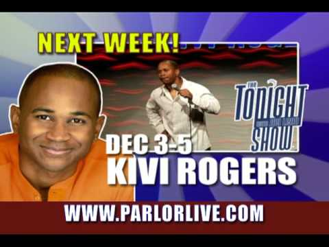 Parlor Live Comedy Club, Tony Rock, Kivi Rogers, Faizon Love