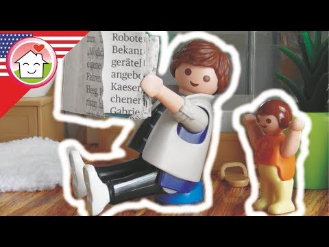 Playmobil video english Daddy Uses the Potty - The Hauser Family kids cartoons