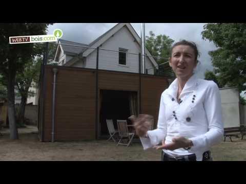 comment construire extension en bois