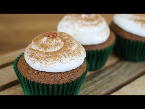 Gingerbread Cupcakes | 12 Days of Xmas Baking | sweetco0kiepie