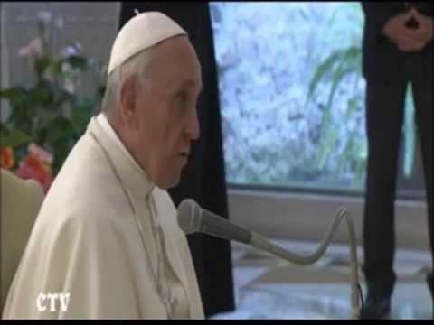 El Papa explica la espiritualidad de Cáritas