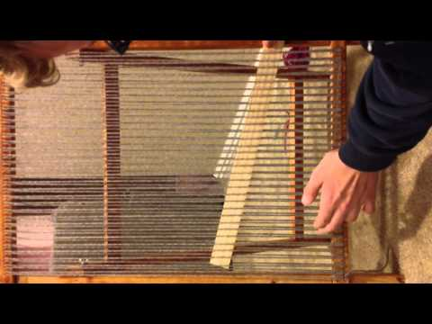 basic weaving loom instructions