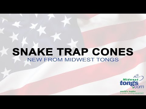 How To Trap A Snake - Midwest Tongs Snake Trap Cones