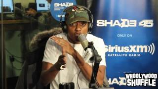 Cassidy 8 Minute Freestyle w/ Swizz Beatz on Shade 45
