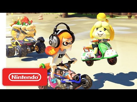 Commercial for Mario Kart 8 Deluxe, and Nintendo Switch (2017) (Television Commercial)