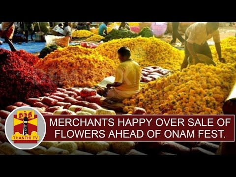 Merchants-happy-over-the-sale-of-flowers-ahead-of-Onam-festival--Thanthi-TV