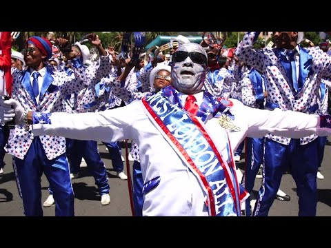 Feiern in Kapstadt: Bunter Karneval statt Kriminalitä ...