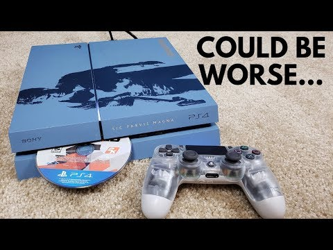 I Bought A GameStop Refurbished PS4... (Hope It Doesn't Break)
