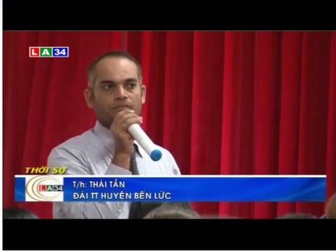 Đài TH Long An đưa tin về hội thảo Tuyển sinh 'Học để hội nhập quốc tế'