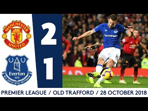 Video: SIGURDSSON'S PENALTY NOT ENOUGH FOR UNFORTUNATE BLUES | MANCHESTER UNITED 2-1 EVERTON