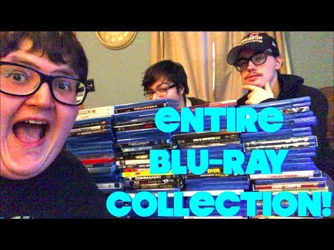 COMPLETE BLU-RAY COLLECTION- 2018 | MALLY'S COLLECTION