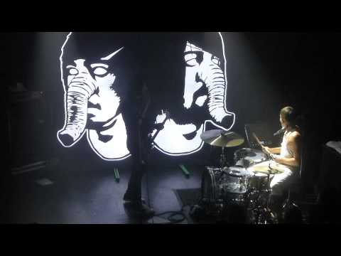 Death From Above 1979 - Blood On My Hands (The Troubadour, Los Angeles CA 8/14/14)