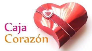 Manualidades Para San Valentín ♥ CAJA De Regalo CORAZÓN ♥ (Fácil) - Innova Manualidades