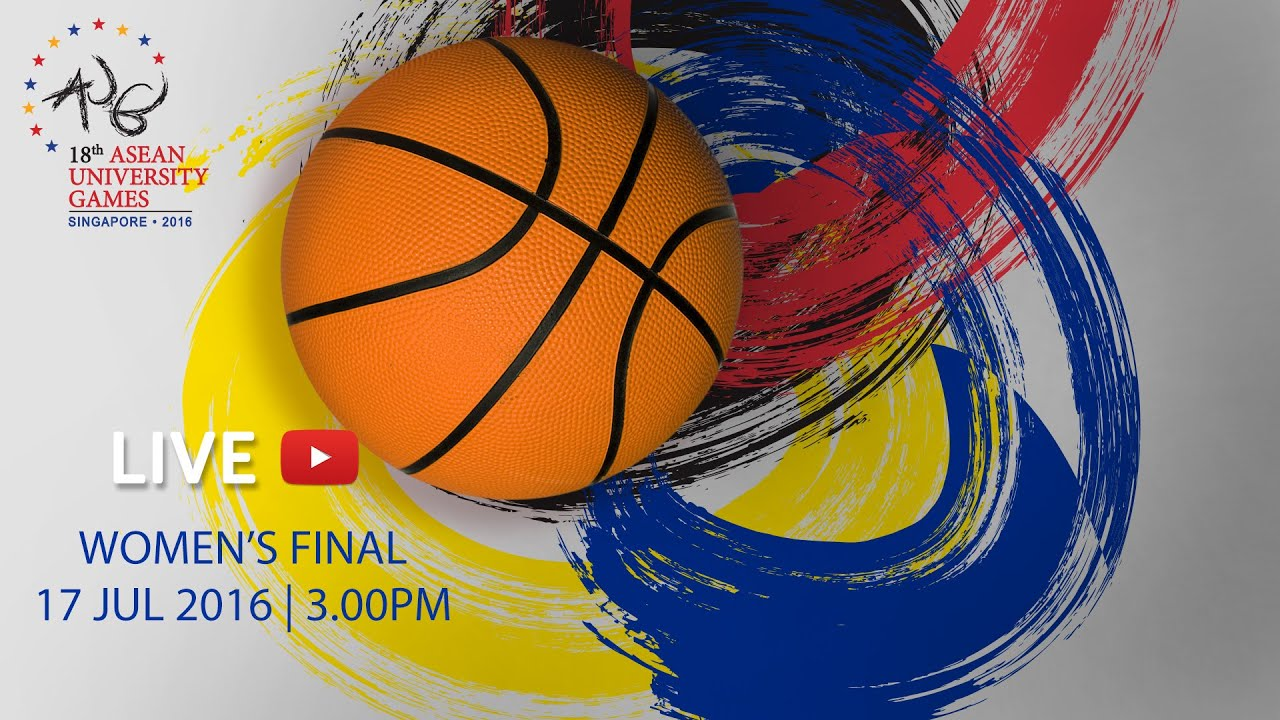 Basketball Women's Final Philippines vs Thailand | 18th ASEAN University Games Singapore 2016
