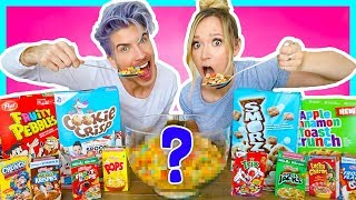 Video MIXING EVERY FLAVOR OF CEREAL TOGETHER! MP3, 3GP, MP4, WEBM, AVI, FLV Oktober 2018