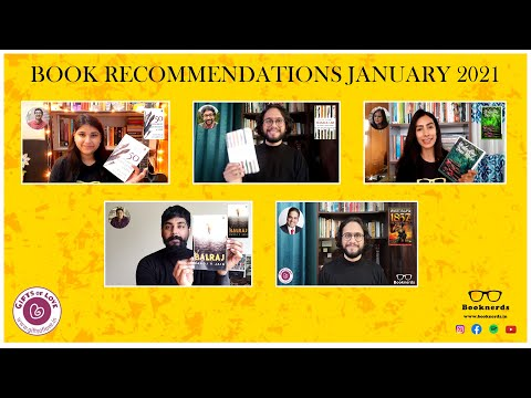 Book Recommendations   Booknerds   January 2021