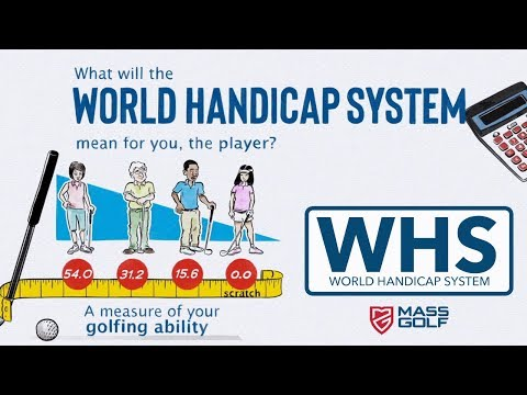 World Handicap System (WHS) Introduction - Player Journey