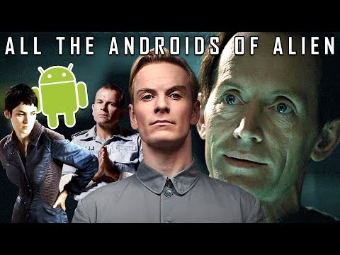 All the Androids of the Alien Franchise...