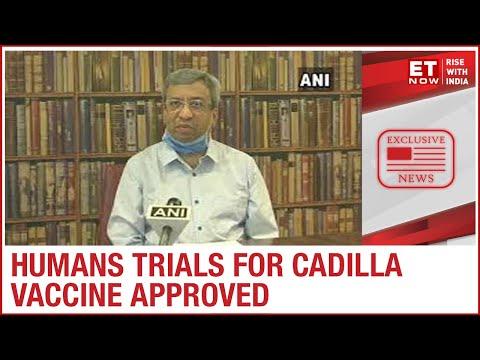 Cadila Healthcare gets nods for human trials of COVID-19 vaccine   Pankaj Patel to ET NOW