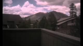 Time-Lapse of Mount Elden in Flagstaff, AZ - 5/4/2015