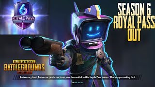 Pubg Mobile Season 6 Royal Pass is Here | Free Birthday Chicken Crate | New Emoji | Skins | Firework