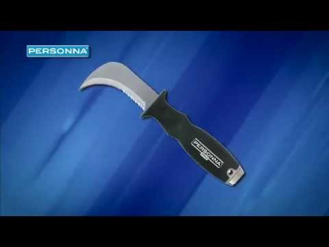 Personna Blades Linoleum Knife - Personna Blades has a wide variety of products for flooring installers, including its innovative new ergonomically designed linoleum knife.