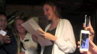 Sister Kenya Carroll's LDS Mission Call Opening
