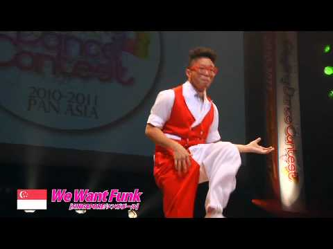 【GDC 3rd】GATSBY DANCE COMPETITION 2010-2011:ASIA GRANDFINAL/We Want Funk【SHINGAPORE】