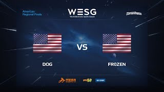 Dog vs Fr0zen, game 1