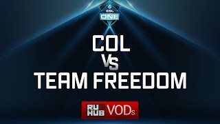 compLexity vs Team Freedom, ESL One Genting Quals, game 1 [Lex]