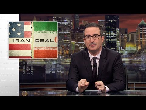 John Oliver on the Iran Nuclear Deal