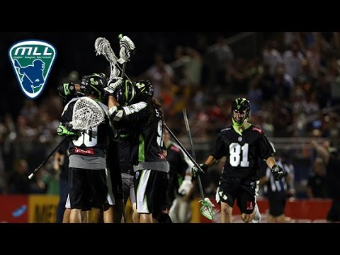 2015 MLL Semifinals Highlights: New York 16, Boston 15 (OT)