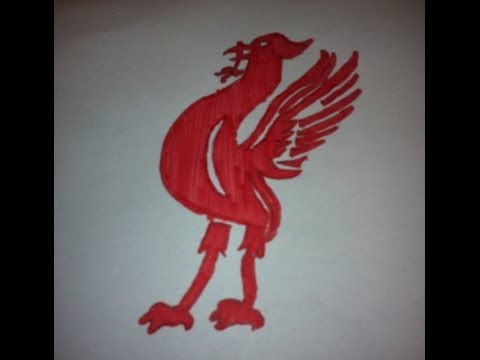 LIVERPOOL LIVER BIRD SPEEDART DRAWING!