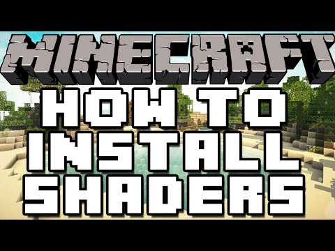 How To Install Shaders In Minecraft 1.7.4 & 1.7.5 (видео)