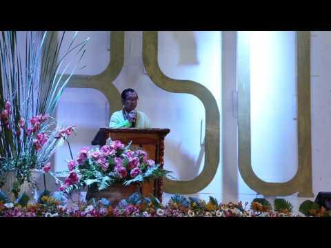 Response by Dr. Sonwright B. Maddul, 40 year loyalty awardee