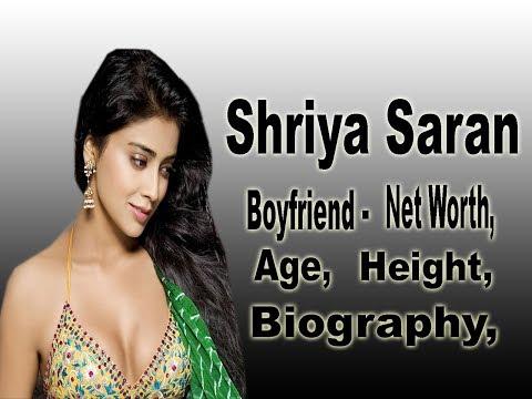 Shriya Saran Net Worth, Biography, Age, Height, Boyfriend