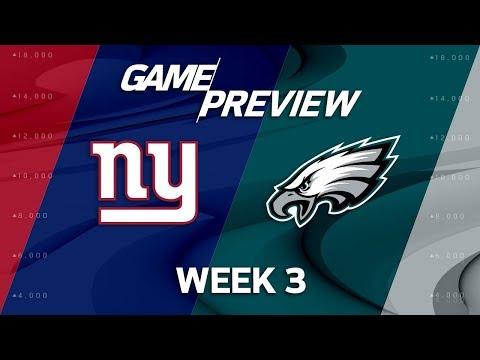 Video: New York Giants vs. Philadelphia Eagles | Week 3 Game Preview | Move the Sticks