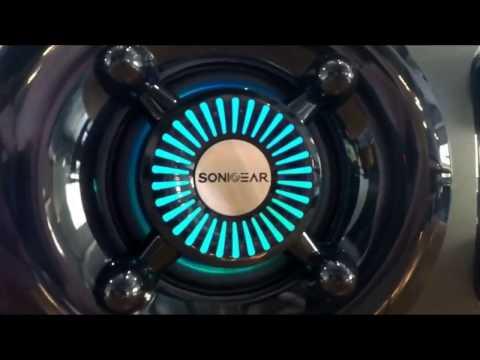 SONICGEAR Titan 7 BTMI Bluetooth Speaker with LED