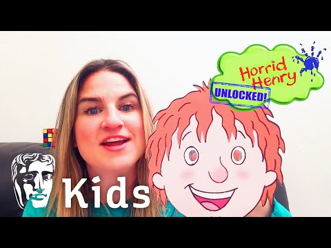 Horrid Henry's Voice Actor's Top Tips for Being at Home | BAFTA Kids at Home with Place2Be