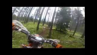 3. 2014 KTM 150 XC hare scramble racing